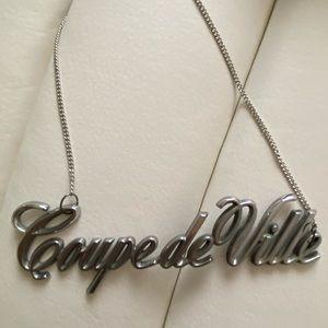 Supreme Coupe De Ville Car Emblem Necklace